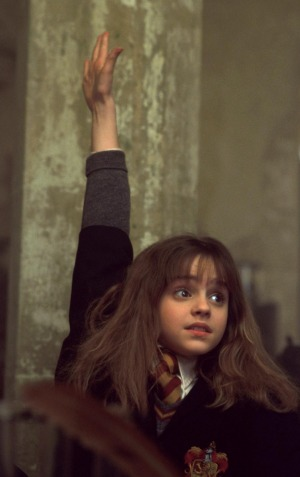 hermione-hand-up